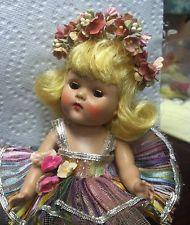 "VOGUE Ginny  Strung Doll ""Rainbow ballerina # 45 Fever cheeks  near Mint!!"