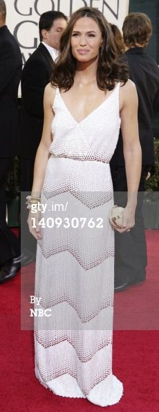 Jennifer Garner arrives at the 64th Annual Golden Globe Awards held at the Beverly Hilton Hotel on January 15, 2007