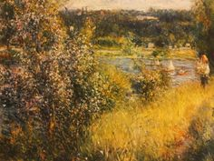 Renoir-Verso Monet