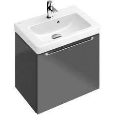 Villeroy & Boch SUBWAY 2.0 Handwaschbecken 450 x 370 mm, mit Hahnloch, mit Überlauf star white activecare