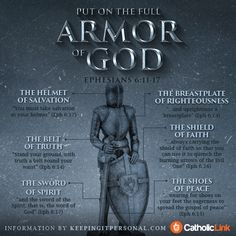 The Armor of God All Christians Need for Spiritual Battle, In One Infographic