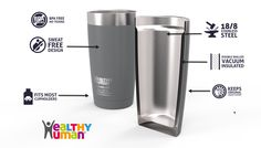 20oz healthy human tumbler specifications