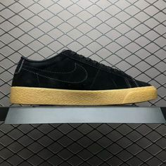 Nike SB Blazer Low Black Gum Black Anthracite 864347-002-3 4898697ed