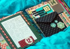 Book Inspiration -- Love The Non-Traditional Christmas Colors & Papers