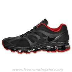 hot sale online 17d90 1cc69 Discount Mens Nike Air Max 2012 Black Red Shoes The Most Flexible Shoes