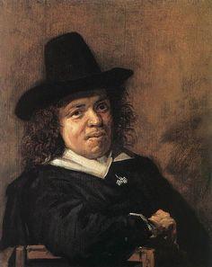* Retrato de Frans Janszoon Post * Pintor holandês. Fez parte da Comitiva do Príncipe Johann Moritz von Nassau-Siegen em viagem para o Brasil. (Leyden, 1612 - Haarlem, 1680).