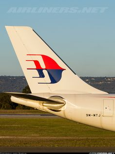 Malaysia Airlines Airbus A330-323E at Perth International Airport, Australia