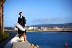 Redondo Beach Wedding at the The Portofino Hotel & Marina.