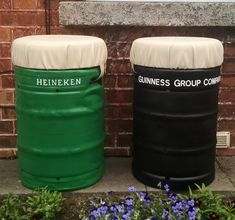 These kegs have gone through a complete transformation. Complete with comfy removable seat pads, perfect addition to any garden or home bar. Buy Vinyl Records, Beer Keg, Buy Lego, Modern Bar Stools, Seat Pads, Bars For Home, Home Collections, Modern Design, Furniture Design