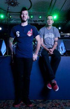 The dynamic duo: Tyler and Josh twenty one pilots