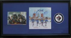 Winnipeg Jets - Object Fit: Book, Puck and Picture In: Custom Framing - Custom Framing Examples Jets, Custom Framing, Picture Frames, Pictures, Portrait Frames, Photos, Picture Frame, Frames, Resim