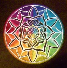Color Wheel Mandala by Caterina Martinico