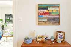 Bright colors & plants. Alison's Eclectic Mix in a Cozy San Francisco Apartment