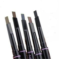 1Pcs New Automatic Eyebrow Enhancer 100% Sweat & Waterproof Eyebrow Pencil Pen 5 Colors Eye Brow Paint Brand Makeup Cosmetics