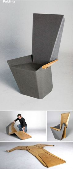 The Flat Stanley Origami Chair is very similar to the sofa
