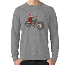 Lightweight Sweatshirt As Christmas And Birthday Gifts For Motorcycle Enthusiasts Husband