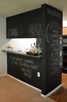 Brilliant -  | Check out more ideas for Home Bars at decopins.com | #homebars…