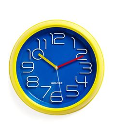 Bright Place at the Bright Time Wall Clock. ModCloth. $47.99