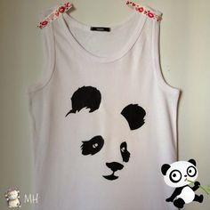 Camiseta Panda, Tutorial | Aprender manualidades es facilisimo.com
