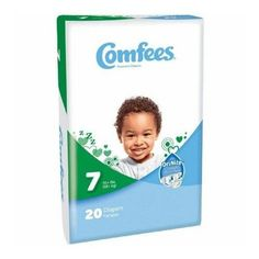 Comfees Size 7 Attends Baby Diaper Comfees Size 7 Attends Baby Diaper from PRO2 Medical are Perfume and Latex Free with a Soft Outer Cover. Attends diaper come