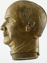 William McKinley Brass Figural Match Safe/Vesta – c 1890 Part of a Series