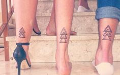 unique Geometric Tattoo - 55 Eloquent Sibling Tattoo Ideas- Show The World Your Special Connection Check m. Siblings Tattoo For 3, Matching Tattoos For Siblings, Sibling Tattoos, Family Tattoos, Couple Tattoos, Mini Tattoos, New Tattoos, Body Art Tattoos, Sleeve Tattoos