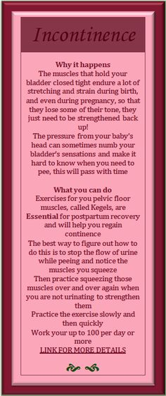 Postpartum Incontinence - Why it happens and what you can do about it.   Natural, holistic women's health and remedies. A free download with 12 of the most common postpartum problems women experience. I explain why they are so common and give all my best tips for relieving the troubles!