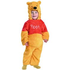[HALLOWEEN] Winnie The Pooh Deluxe 2-Sided Plush Jumpsuit Costume - $27.30 with FREE SHIPING WORLDWIDE! 2 DAYS for ALL USA DELIVERY!!! visit our site ->>> http://HALLOWEEN-CLOTHES.CF
