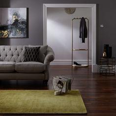 Buy John Lewis & Partners Parga Rug, Grey, x from our Rugs range at John Lewis & Partners. Living Room Grey, Rugs In Living Room, Living Spaces, Pantone, Dark Grey Rug, Rug Company, Art Deco Home, Carpet Flooring, Flooring Tiles