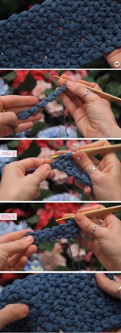 Jasmine Stitch Tutorial