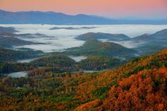 Just gorgeous! Are you looking forward to fall sunrises in the Smoky Mountains?