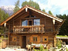 Cabin fever#rustic charm#alpine living. Chalet in Priesteregg, Austria Chalet Design, Chalet Style, Cabin Design, Alpine Chalet, Swiss Chalet, Cabins In The Woods, House In The Woods, Cozy Cabin, Cozy House
