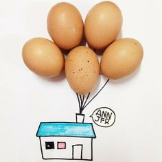 Blending Everyday Objects With Illustration  #art #drawings #illustrations