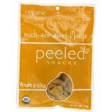 Peeled Snacks Much-ado-about-Mango, Ounce bags (Pack of (Grocery)By Peeled Snacks Gluten Free Snacks, Foods With Gluten, Vegan Snacks, Healthy Snacks, Gourmet Recipes, Snack Recipes, Food Packaging, Packaging Design, Fruit Snacks
