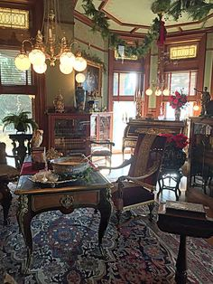 Superb Victorian Parlor, Old Victorian Homes, Victorian Interiors, Victorian  Decor, Victorian Houses,