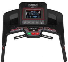 Sole F85 Treadmill - The Console