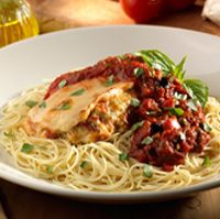 Stuffed Chicken Siena - Olive Garden Recipe - not copycat - Olive Garden Website Italian Dishes, Italian Recipes, Siena, Pasta Recipes, Chicken Recipes, Olive Garden Recipes, Maine, Restaurant Recipes, Original Recipe