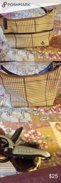 Ralph Lauren plaid handbag. Never worn. Ralph Lauren plaid handbag. New. Never worn. Ralph Lauren Bags Mini Bags