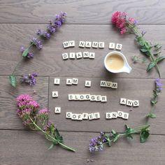 Scrabble tile art and flowers From the PaintSewGlueChew instagram feed.