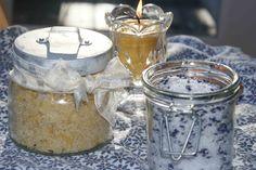 Making Bath Salts & Sugar Scrub. Photo by Patti Long, FarmMade