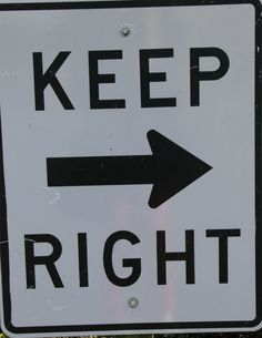 Keep Right Horizontal Arrow Signs manufactured by Rice Signs. Reflective Keep Right Horizontal Arrow Signs are white and black. All Traffic Signs, Page Frames, Press Forward, Arrow Signs, Red State, Parking Signs, Directional Signs, One Fish, Construction Party