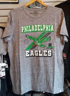 New Mens Philadelphia Eagles Crosstown Legacy Flanker Tee Shirt by 47 Brand