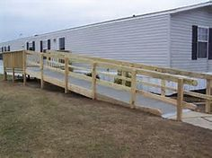 Ramp For Mobile Or Manufactured Home Ramps Pinterest