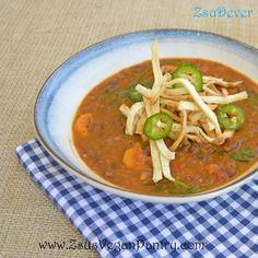 Black Bean and Carrot Soup Print-Friendly Recipe
