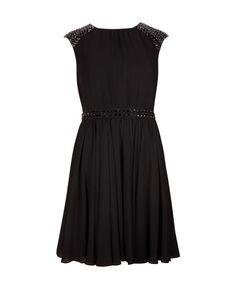 Beaded detail dress