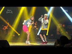 Ailee and Amber singing Uptown Funk! [HIT] 유희열의 스케치북-엠버, 에일리 - Uptown Funk.20150306
