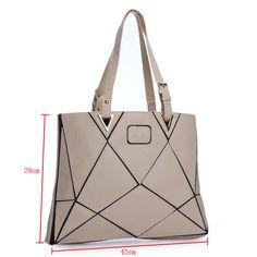 новая мода кожа PU большая емкость лоскутная сумка сумка