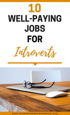I really need to do this right for myself this year. I hate my job!!! 10 Well-Paying Jobs for Introverts - This Blended Home of Mine _ Social Anxiety, Career, Part time, Make Money, Tips