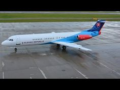 (With live ATC) Slovak Government Fokker 100 at Zürich-Kloten Nose Art, Airports, Atc, Plane, Aviation, The 100, Aircraft, Youtube, Military Personnel