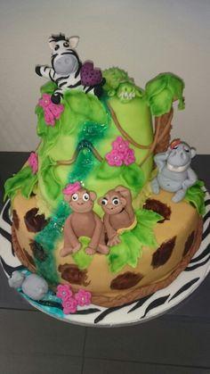 Geburtstagstorte Tiere Cake, Desserts, Food, Birthday Cake Toppers, Animales, Tailgate Desserts, Deserts, Kuchen, Essen